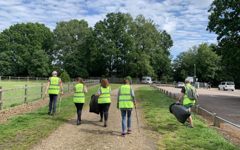 Sicon Foundation Litter Picking - Day 2 Group pic v3